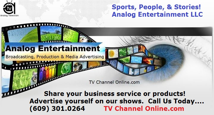 TV Channel Online - Analog Entertainment Media Advertising
